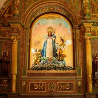 ref: PM_080432_E_Huerta_de_Valdecarabanos; Ermita de la Virgen del Rosario de Pastores